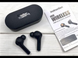 Casti Wireless Stereo Independent cu baza incarcare,Bluetooth 5.0, Casti In Ear, Active Noise Cancelling