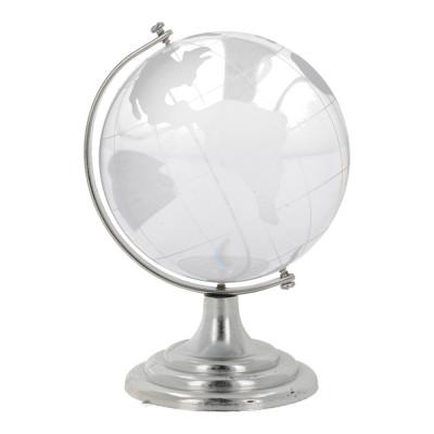 Glob pamantesc din cristal 80 mm foto