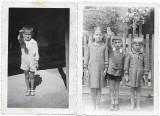 C3 Copii salut romanesc lot de 2 poze anii 1930