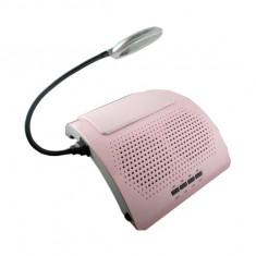 Aspirator profesional pentru manichiura, roz