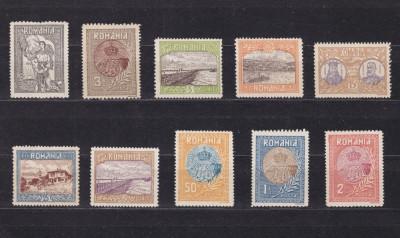1913 - Silistra - serie completa - MNH foto