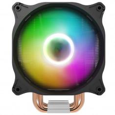 Cooler pentru procesor darkFlash Darkair Plus, ARGB, Activ, Radiator si ventilator, Black