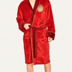 Halat De Baie Harry Potter Hogwarts Express 9 3/4 Adult Fleece Bathrobe