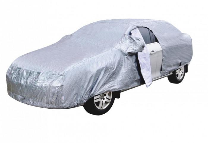Prelata Dacia Duster I 2009-2017 impermeabila, vatuita si cu fermoar usa sofer