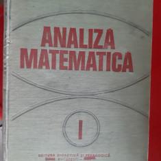 ANALIZA MATEMATICA VOL 1