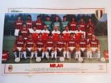 Poster fotbal - echipa AC MILAN (sezonul 1988/1989)
