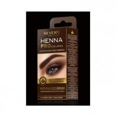 Vopsea de Sprancene Henna Pro Colors Revers Maro