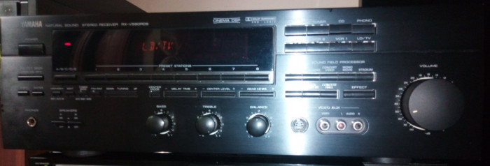 Receiver Yamaha RX-V590 RDS Dolby Surround Prologic Cinema DSP