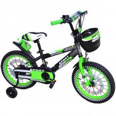 Bicicleta copii 16 inch Quickness cu leduri