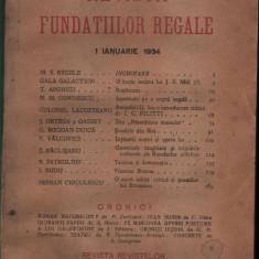 Diverse numere - Revista Fundatiilor Regale