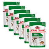 Cumpara ieftin Pliculeț Royal Canin Mini Adult 6 x 85 g