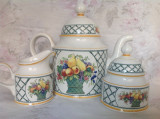 Set vintage din vitroportelan Villeroy & Boch Basket