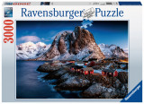 Puzzle Hamnoy 3000 piese Ravensburger