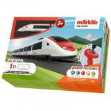 Cumpara ieftin Tren Have Fun de calatori cu sine si telecomanda Swiss Express