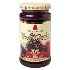 Gem de Fructe de Padure Indulcit cu Nectar de Agave Fara Zahar Bio 225gr Zwergenwiese Cod: 5000050