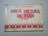 MICA METODA DE PIAN -   Maria Cernovodeanu - 1984, 93 p.