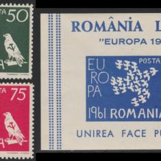 Romania Exil 1961 - EUROPA dt + colita, propaganda anticomunista Emisiunea 25