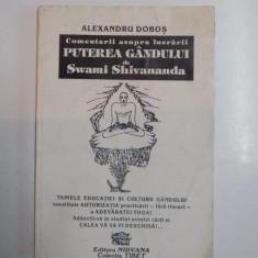 COMENTARII ASUPRA LUCRARII PUTEREA GANDULUI de ALEXANDRU DOBOS, 1994