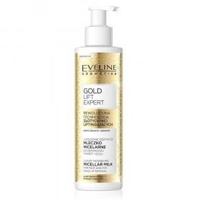 Lapte micelar demachiant Eveline Cosmetics Gold Lift Expert 200ml