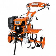 Motosapatoare Ruris 732ACC 7.5 CP 208 CC + Roti cauciuc + Rarita + Roti metalice fara manicot + Cultivator