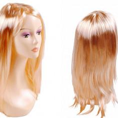 Peruca cu Par Lung de 65cm pentru Femei, Nuanta Blond