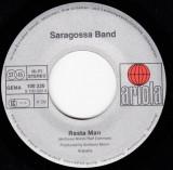 "Saragossa Band - Rasta Man (1979, Ariola) Disc vinil single 7"""