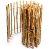 Gard de gradina din lemn de alun, distantat 8-10 cm, 500x50 cm GartenVIP DiyLine, Artool