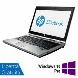 Laptop Hp EliteBook 2570p, Intel Core i5-3210M 2.50GHz, 8GB DDR3, 320GB SATA, DVD-RW, 12.5 Inch + Windows 10 Pro