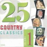 CD 25 Country Classics Volume 1 , original, holograma