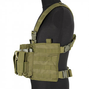 Ham Tactic Chest Rig Scout Olive GFC Tactical