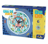 Cumpara ieftin Puzzle cu ceas Ora de joaca - Masinute, 100 piese, Noriel