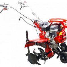 Motocultor Loncin LC850 cu roti, 7CP, motor 175F-2, 212 cmc, 3600 rpm, 90 cm latime maxima de lucru, 10-36 cm adancime de lucru, capacitate rezervor 3