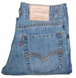 Blugi Dama Levis Jeans LEVI'S 569 RELAXED - MARIME: W 28 / L 32 - (Talie 73 CM), Lungi, Albastru