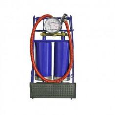 Pompa de picior cu 2 cilindri si manometru, Strend Pro FAP970