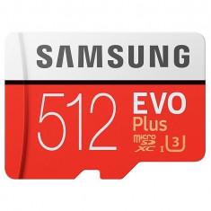 Card Samsung EVO Plus 512GB Micro SDXC UHS-I Clasa 10 + Adaptor