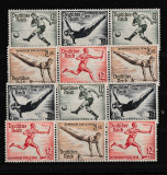 Germania - Reich  1936 - JOCURILE OLIMPICE - ZDR - Michel 106 Euro - Complet
