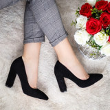 Pantofi Nisilo negri eleganti -rl