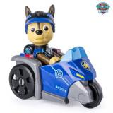Mini vehicul de salvare Paw Patrol Mission Paw cu figurina Chase