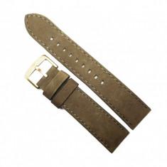 Curea de ceas Emporio Armani din piele intoarsa - 20mm