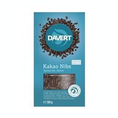Miez din Boabe de Cacao Bio 180gr Davert Cod: 4019339414507