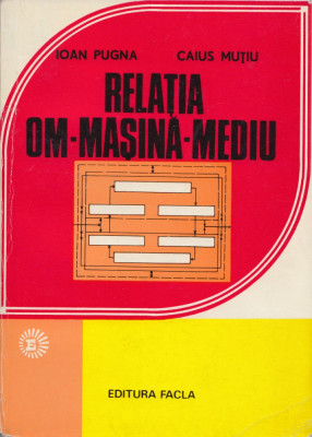 Pugna, I. s. a. - RELATIA OM-MASINA-MEDIU IN ORGANIZAREA LOCULUI DE MUNCA, 1979 foto