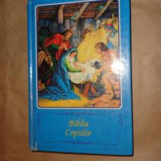 Biblia copiilor cu ilustratii 395pagini+8harti/an 1990