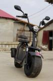 Scuter electric NITRO Eco Cruzer 1000W 60V 20 Ah cu 2 locuri #Negru matt