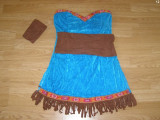 costum carnaval serbare indianca pentru copii de 8-9 ani