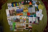 Lot mare (302 piese) pliante, ghiduri si harti turistice straine anii 60-80
