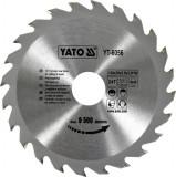 Disc fierastrau wolfram pentru lemn 160 mm x 24T YATO