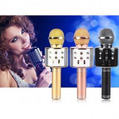 Microfon wireless pentru Karaoke WS-858 cu Bluetooth
