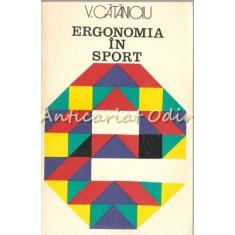 Ergonomia In Sport - V. Cataniciu