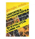 Unitatea, diversitatea si evolutia lumii vii