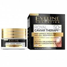 Crema concentrata de intinerire Eveline Cosmetics Royal Caviar Therapy 50+ 50ml